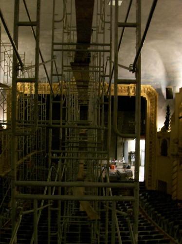 washington theatre plaster historicbuildings hoquiam hoquiamwashington 7thstreettheatre ceilingrestoration