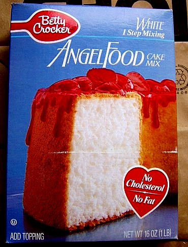 Expired Angel Food Cake Mix
