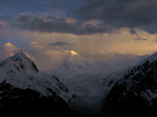 Sunset over Miar Peak