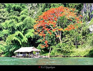 Saiyok river, Thailand