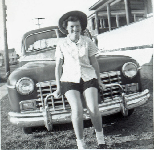 Girl at Car, c. 1951