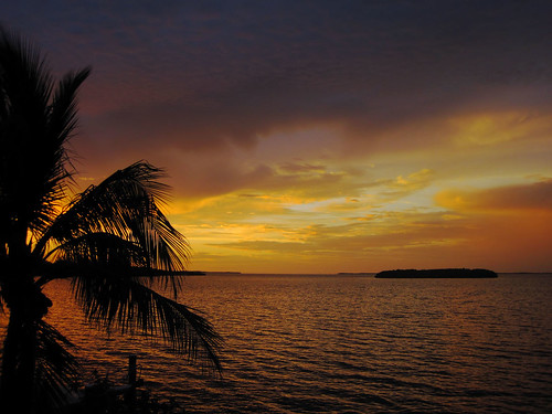 sunset sea water clouds island poem palmtree kl floridabay 2452 61811 public2011 52weeksfornotdogs sunsetbyrainermariarilke