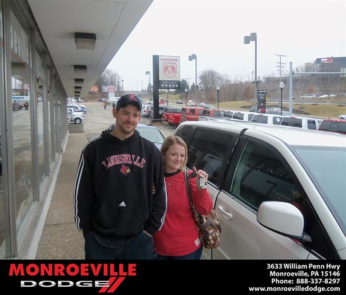 #HappyAnniversary to Jared Stephen Davis on your 2012 #Dodge #Caravan from Robert Wilkes  and everyone at Monroeville Dodge! by Monroeville Dodge