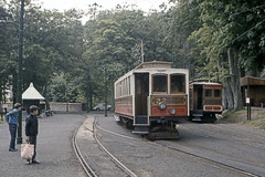 IM Isle of Man - Manx Electric Railway - MER 22 Laxey Station - May 1971