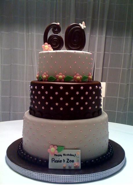 Birthday Cake Design 60 Years Old : My Mom s 60th Birthday Cake Flickr - Photo Sharing!