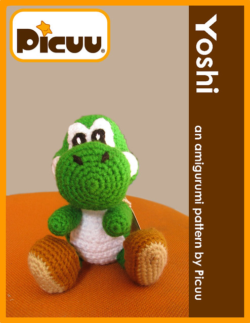 Crochet Pattern Free Amigurumi : yoshi amigurumi pattern available at my etsy shop ...