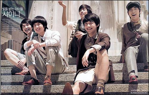 SHINee old style fashion
