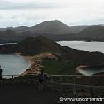 Pinnacle Rock and Volcano - Galapagos Islands