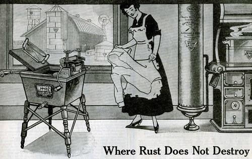 Wash Day 1917