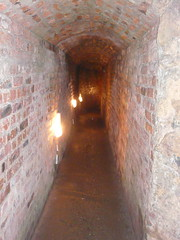 arch, air-raid shelter, crypt, brickwork, infrastructure, tunnel,