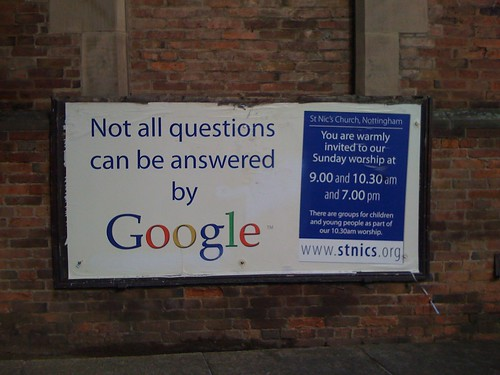Not all questions can be answered by Google