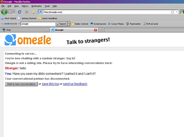 tagged chat omegle