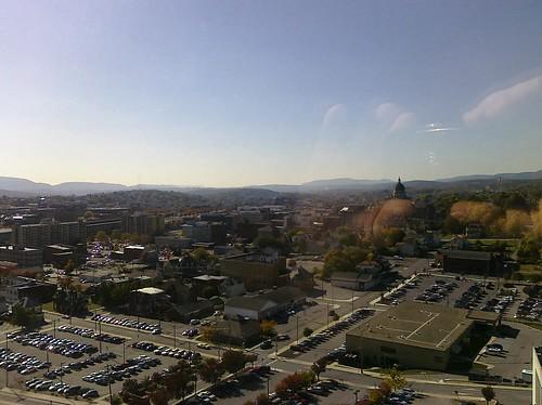 city fall dad view pennsylvania healing altoona