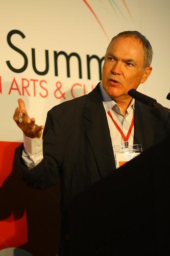 IFACCA Board Member, Bob Sirman (Canada) 4th World Summit on Arts & Culture