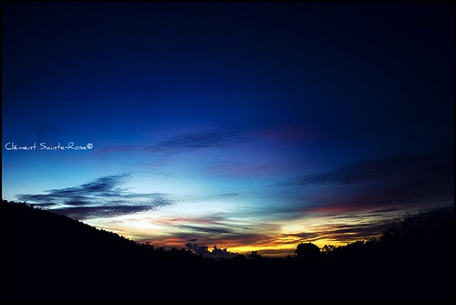 sunset sky cloud canon soleil martinique ciel 7d nuage choucherdesoleil