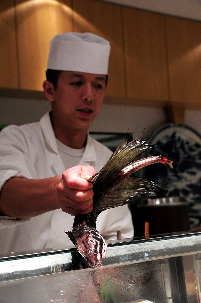 筌壽司-北海道八角魚