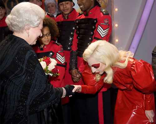 Lady Gaga And The Queen Of England
