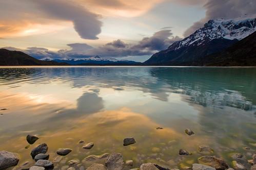 Reflejos en el Lago Nordenskjöld