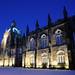Kings College Chapel on a wintery night, Old Aberdeen, Scotland