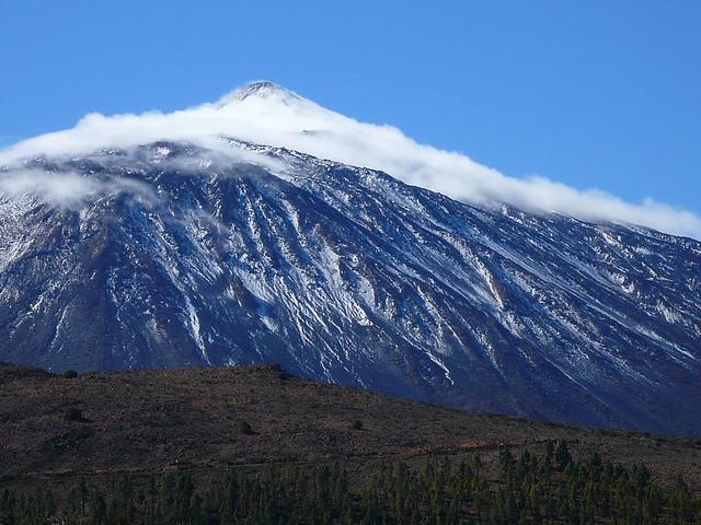 Teide snow