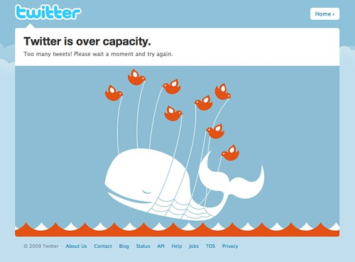 Twitter / Over capacity
