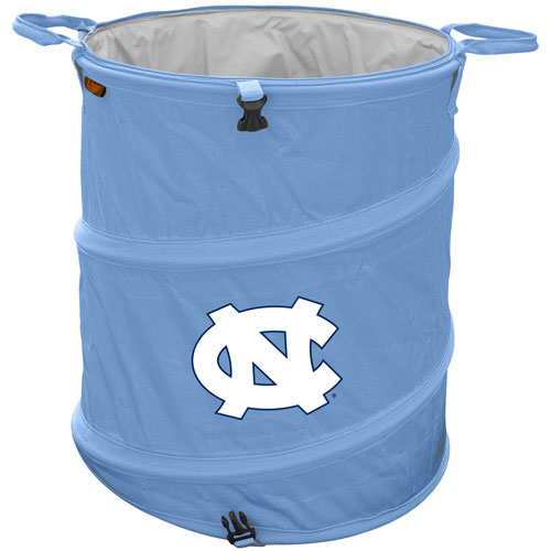 North carolina trash can cooler collapsible design for tailgating camping clothes hamper more - Collapsible trash can ...