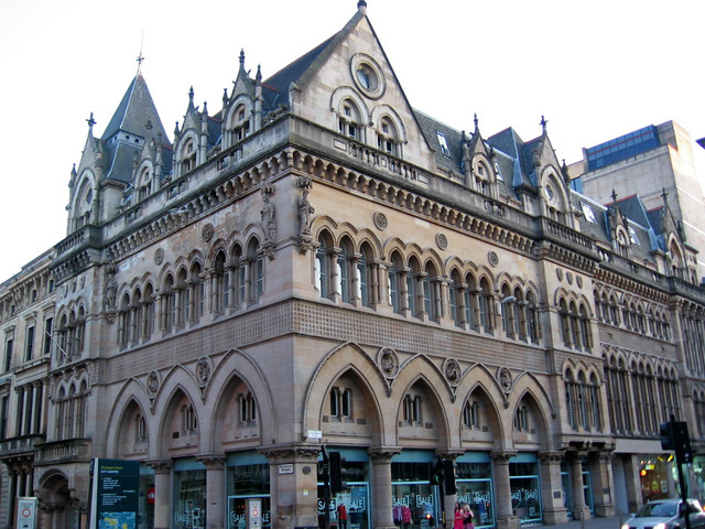 Stock Exchange, Victorian architecture in Glasgow