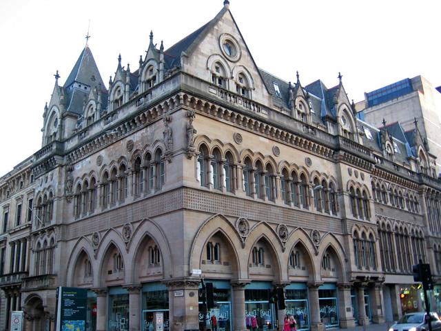 Stock Exchange, Victorian architecture in Glasgow