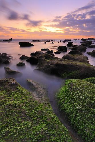 longexposure light sunset sea sky bali seascape seaweed beach nature water silhouette clouds indonesia landscape coast rocks shoreline tanahlot canggu efs1022mmf3545usm outdoorphotography canoneos50d tropicaliving hitechfilters mengeningbeach rawproccessedwithdigitalphotopro tiffproccessedwithadobephotoshopcs3 sofarawaybutyetsonear