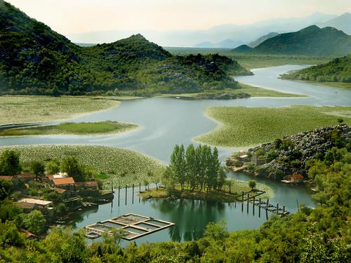 blue lake green water picnic soe montenegro crnagora jezero skadarskojezero skadarlake sandradjurbuzovicdimitrijevic flickrdiamond karuc mallmixstaraward
