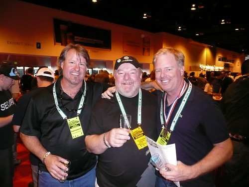 Vic Krajl, from The Bistro, Award-Winning Homebrewer Mike McDole & Shaun O'Sullivan, from 21st Amendment