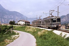 Trains du Trento-Male (Italie)