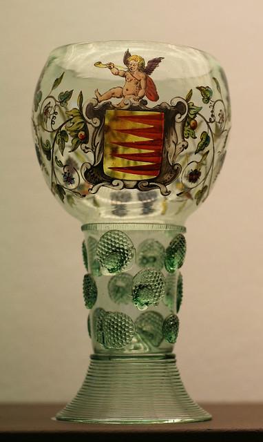Museum Boijmans van Beuningen - glas met wapen
