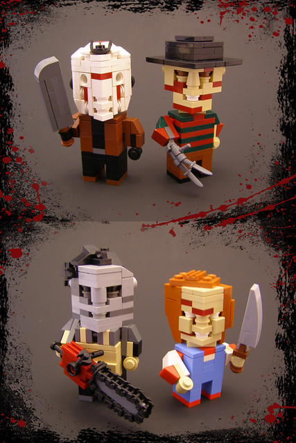 Cubedude Slashers In Honor Of Halloween I Thought I D