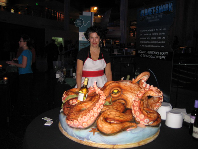 Me and my Octopus Cake