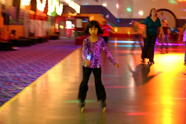 Roller Skating ...