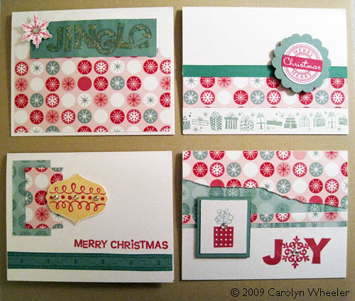 Jingle cards