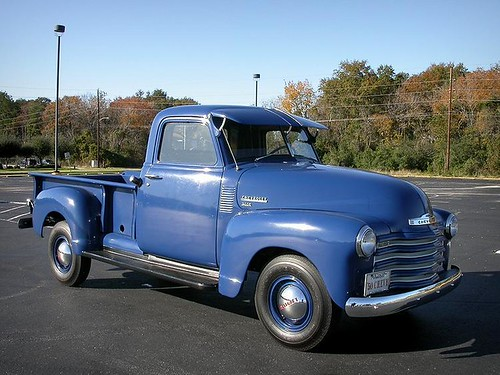 1950 Chevy 3600 (3/4-Ton) 235-Inline-6(105HP) 4-speed-manual.
