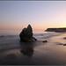 Santa Barbara Beach Sunset (pls press L to appreciate) by pepckat