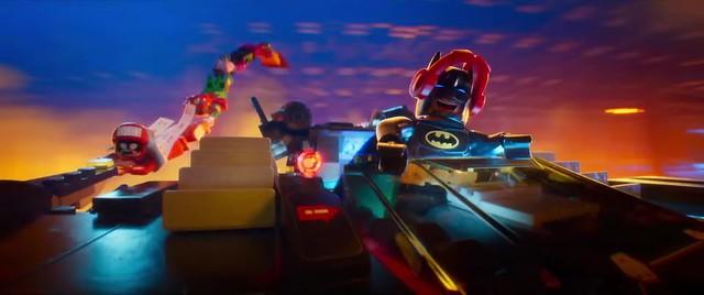 Scena z The LEGO Batman Movie 2