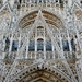 Beautiful stonework - Façade of Rouen Cathedral by Monceau