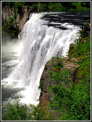 Mesa Falls, Idaho , Nature's Wild Beauty on the Snake River