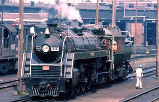 6060 being prepared for an excursion, Toronto Union Station
