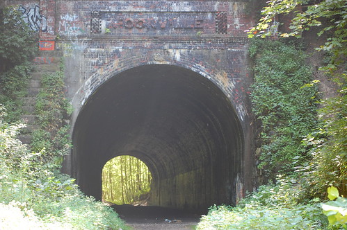 Moonville Tunnel, out-in