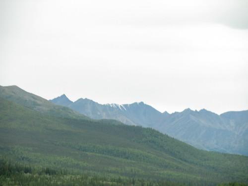 Alaska Highway between Tok and Delta Junction, Alaska