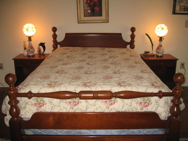 Full Bedroom Set Kling Cherry Cannonball Bedroom Set Full