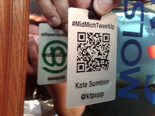 TweetUp Badge