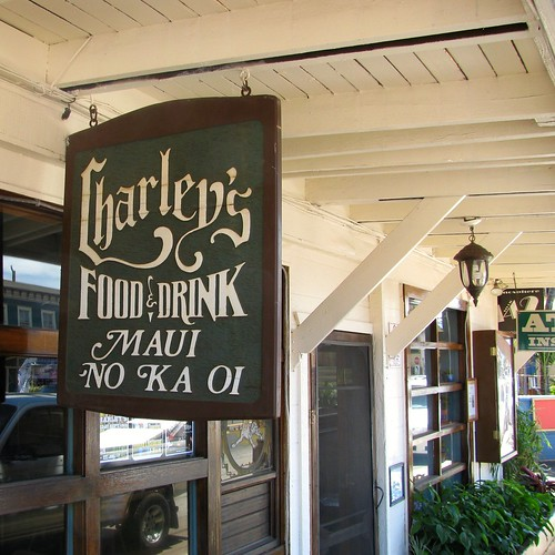 Charley's in Paia is a popular stop for those starting the Road to Hana.