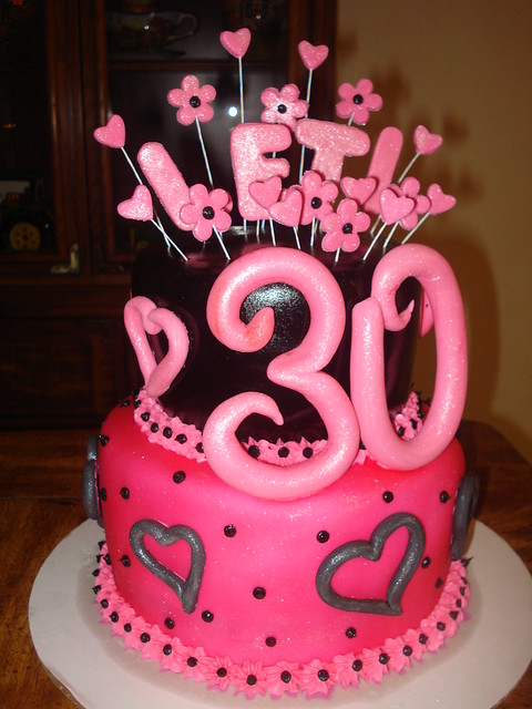 Cake Images For 30th Birthday : 30th birthday cake Flickr - Photo Sharing!