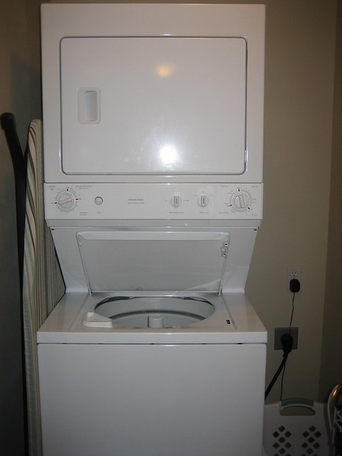 stacked washer dryer unit flickr photo sharing